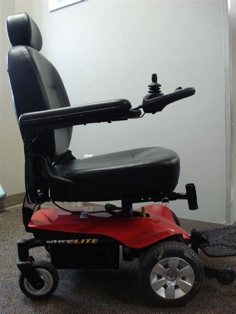 pride mobility jazzy select elite power chair access