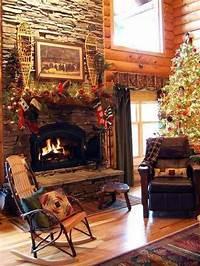 country christmas decorations 60 Elegant Christmas Country Living Room Decor Ideas ...