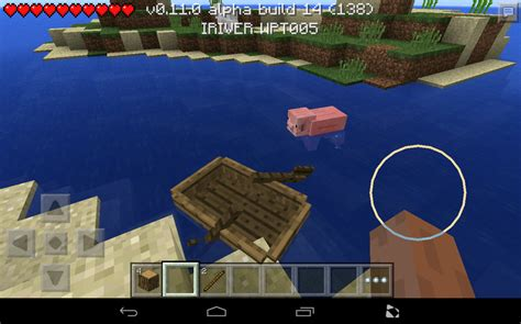How To Make A Little Boat In Minecraft by Minecraft Pocket Edition 0 11 How To Make A Boat