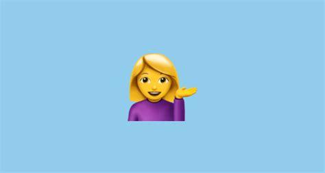 Information Desk Person Emoji