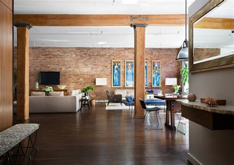 Studio Apartment : Brick Wall Studio Apartment Inspiration