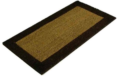 acanthe sol tapis brosse paillasson fibres coco