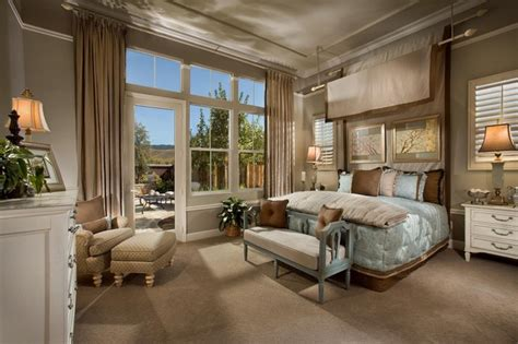 French Style Master Bedroom  Traditional  Bedroom San