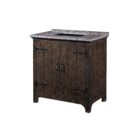 36 inch single sink bathroom vanity with a distressed wood finish uvlklk3328