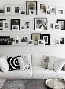 Bilderwand Gestalten Ohne Rahmen : 50 fotowand ideen die ganz leicht nachzumachen sind ~ Markanthonyermac.com Haus und Dekorationen