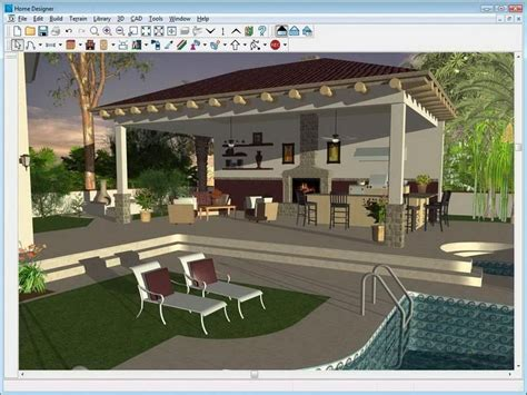 Design A Virtual House Free : Outdoor Kitchen Drawing Plans Free