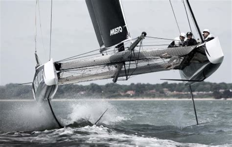Catamaran Sailing Southern Ocean by Gc32 The Cat That Learned To Fly At 30 Knots Yachting World