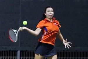 SUniG Tennis (Women): Clare Fong of NUS beats Anne Tan of ...