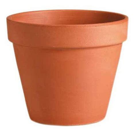 terracotta plant pot 43cm at homebase co uk