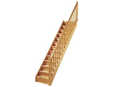 escalier droit en bois exotique escalier escaliers