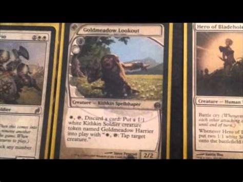 magic the gathering deck ideas mono white soldiers