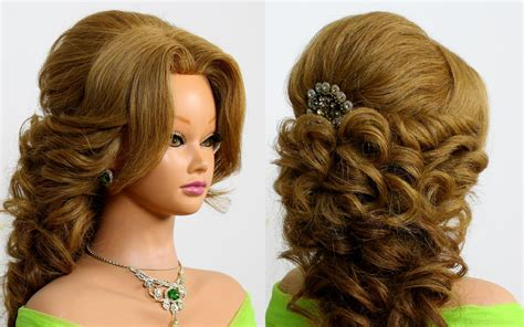 Bridal Prom Hairstyle For Long Hair. Tutorial Highlights Hair Kinds Zayn Malik Hairstyle All Sides Hairstyles For Round Face Shape 2013 Lob Haircut Wavy Modern Youth Mid Length Oval Layered Cut Tutorial School Short