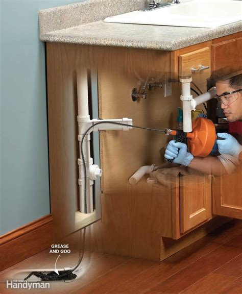 kitchen stunning how to unclog a kitchen sink without