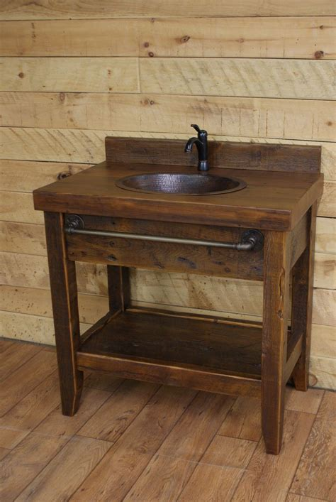 some great rustic bathroom vanities ideas to bring the freshness realie