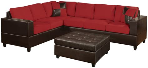 microfiber and leather sectional sleeper sofa with chaise and storage microfiber sectional