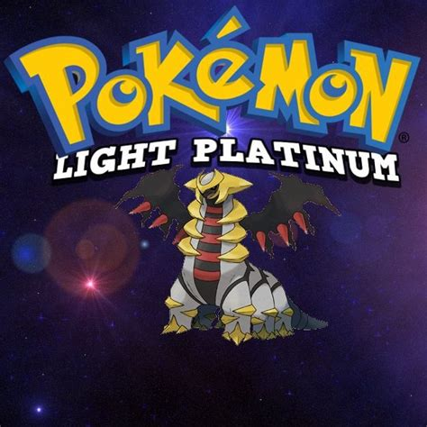 Pokemon Light Platinum  Play Game Online
