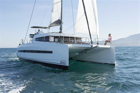 Catamaran Design Features by Bali 4 5 Catamaran Sets A New Design Standard