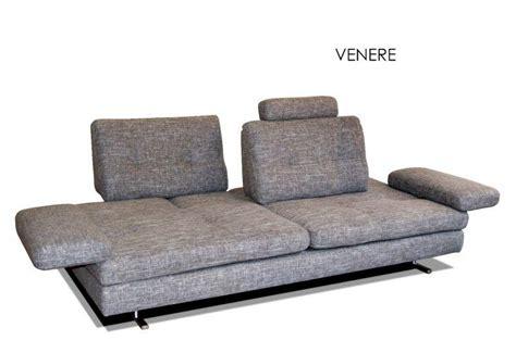canape haut de gamme italien venere 3 5 places venere de tissu gris