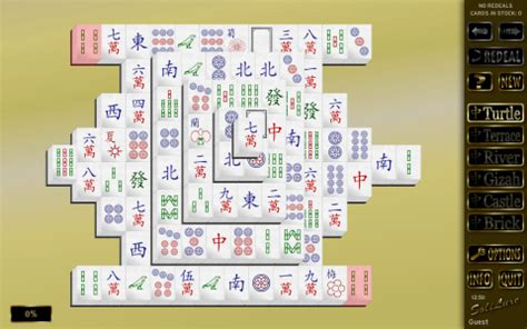 Mahjong Solitaire Tile Layouts by Soliluxe Windows Linux Mac Ubuntu Java Pc Solitaire