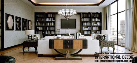 stylish deco interior design and furniture in