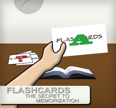 Flashcards  The Secret To Memorization When Study Time Is Limited