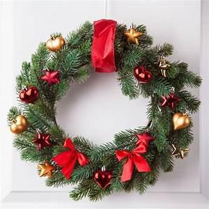 Weihnachtskranz Für Tür : weihnachtskranz selber machen wohn design ~ Markanthonyermac.com Haus und Dekorationen