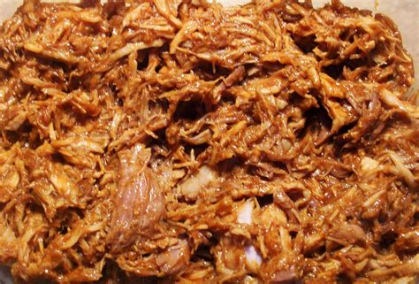 bbq pulled pork in the crock pot bigoven 210738