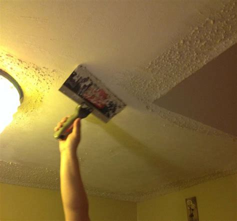 removing popcorn ceilings all