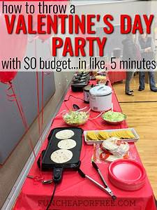 That time I threw a Valentine's Day party in like, 5 ...
