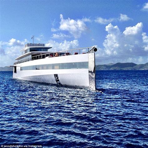 Steve Jobs Boat by Steve Jobs 120m Super Yacht Venus Spotted In The