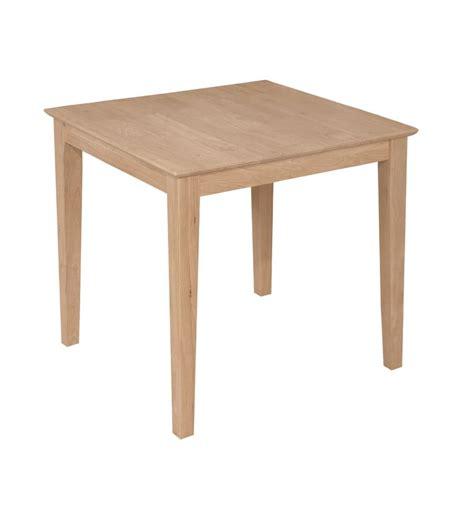 [30x30 Inch] Modern Farm Dining Table  Wood You Furniture