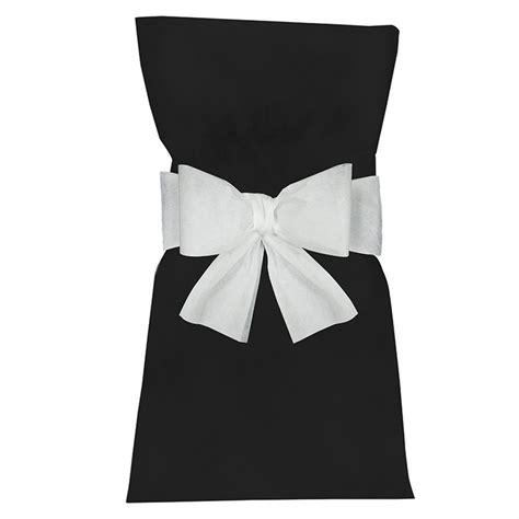 noeud housse de chaise blanc achat vente d 233 co de salle prix bas