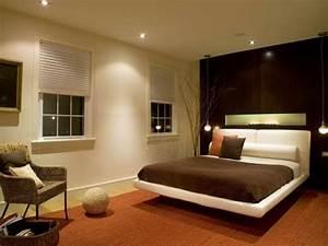 Bett Im Wohnzimmer : tolle beleuchtung im schlafzimmer ~ Markanthonyermac.com Haus und Dekorationen