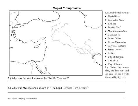 Worksheets Work Maps  Worksheet Example