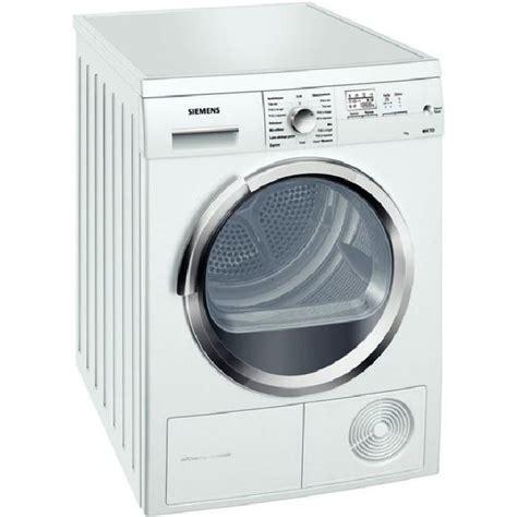 s 232 che linge condensation 7 kg classe a wt46w581 achat vente s 232 che linge soldes d 233 t 233
