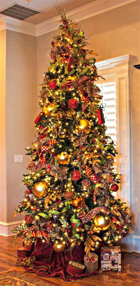 Christmas Tree Theme  Show Me Decorating