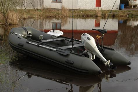 Inflatable Fishing Boat Accessories by Bison Marine Olive Green Inflatable Fishing Sports Air Rib