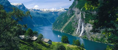 Fjord Queen Tromso by Geiranger Norway