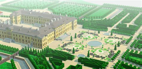 3d design is out our palace multimedia studio rundale palace garden 3d model