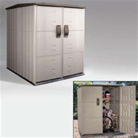 Roughneck Vertical Storage Shed by Rhp3673 Roughneck 162 Modular Vertical Outdoor
