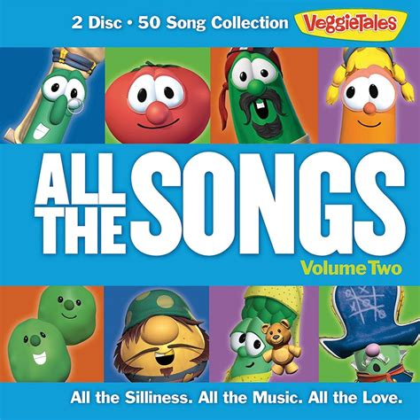 Love Boat Theme Song Remix by All The Songs Volume Two 2 Cd Veggietales Music