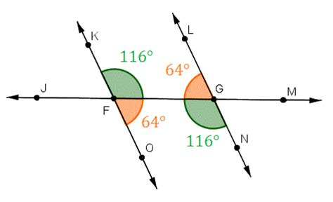 alternate interior angles theorem angle properties postulates and theorems wyzant resources