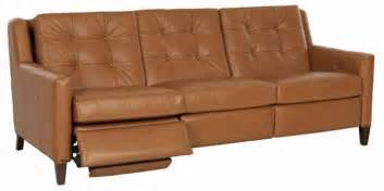 lowry mid century modern power wall hugger reclining sofa