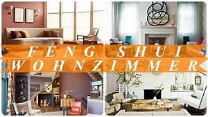 Feng Shui Wandfarben Wohnzimmer : ideen f r feng shui einrichtung wohnzimmer youtube ~ Markanthonyermac.com Haus und Dekorationen