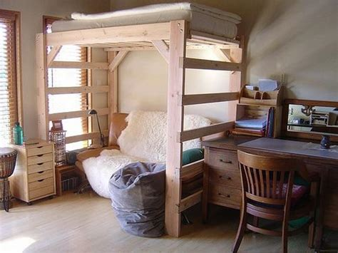 how to build a loft bed for adults stroovi