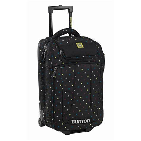 burton wheelie flight deck travel bag evo outlet