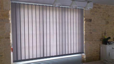 store lame verticale cheap fenetre chambre store vnitien bois sur mesure lames ou mm stores