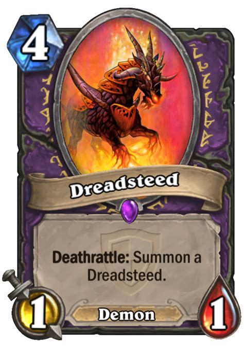 dreadsteed hearthstone card