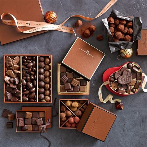 la maison du chocolat assorted chocolates williams sonoma