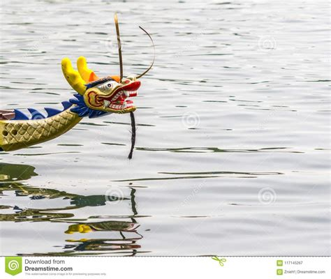 Parts Of A Dragon Boat by Colorful Carved Dragon Head On The Front Part Of A Dragon